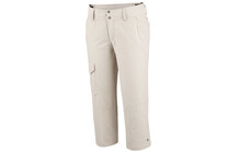 COLUMBIA Women&#039;s Silver Ridge Capri fossile